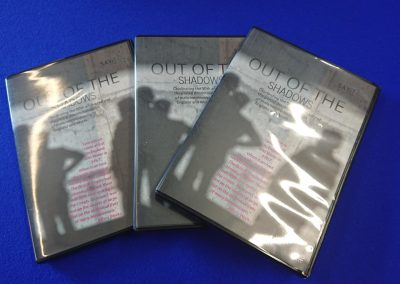 """Out of the shadows"" DVD"