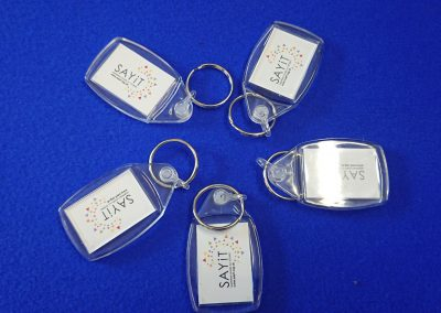 SAYiT keyrings
